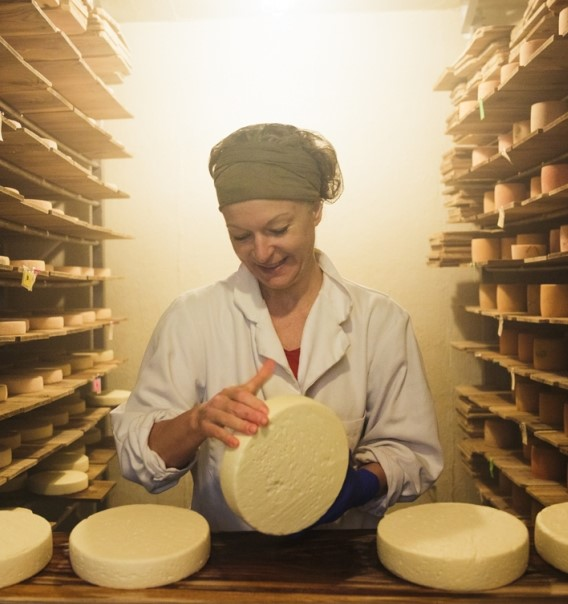 Suzanne Dufresne fromagerie